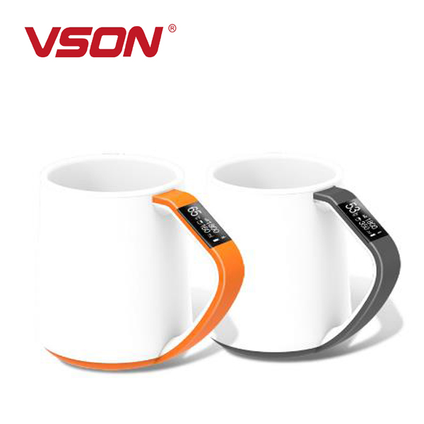 Vson Newest 350ML Intelligent Cup new products 2017 LED APP Remote Remind Water