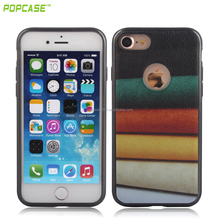 Colourful leather Printing Soft TPU Back Cover Mobile Phone case for Iphone7