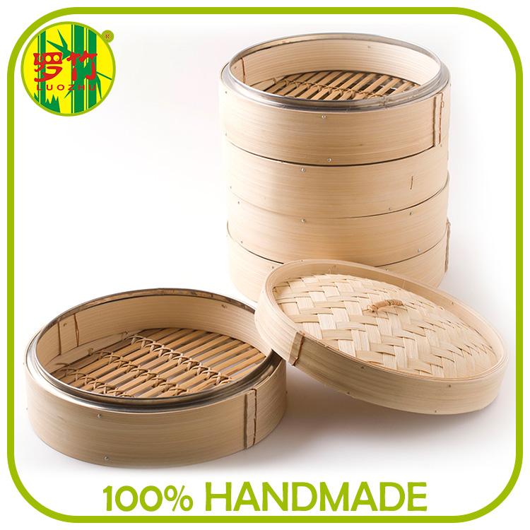 Download Trade Manager Woven Bottom Wholesale Bamboo Chinese Steamers