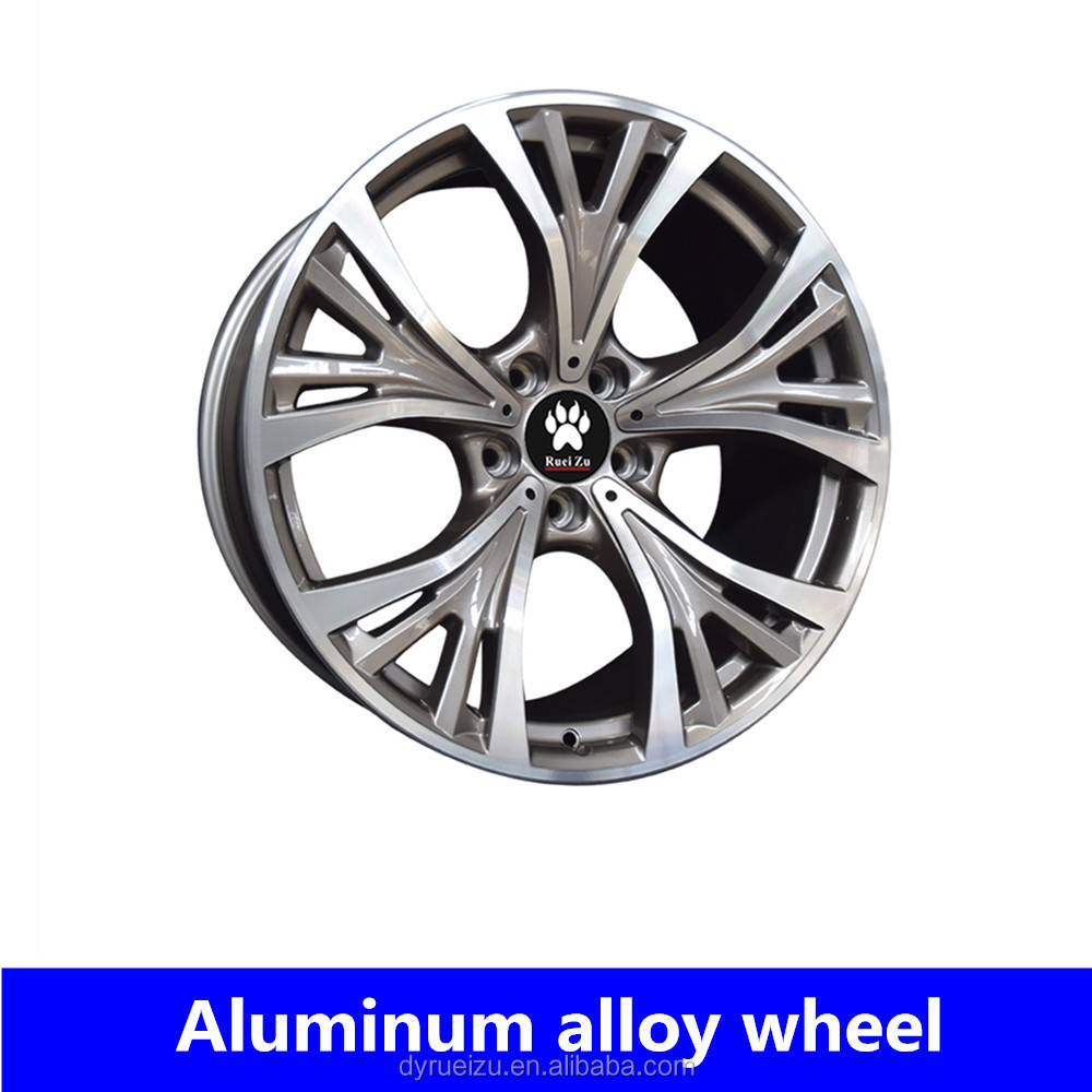 Large size 20inch 21inch 5*120 round alloy wheels car rims for BMWx5/x6
