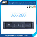 Professional AX-260 600W Power amplifier