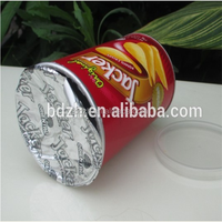 High quality composite paper cans potato chips