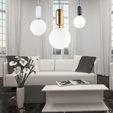 LED crystal ball hanging contemporary chandeliers lighting glass pendant light