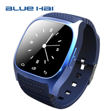 New Model!!1.4 Inch LED Touch Screen Water-proof IP57 MTK 6260 Smart Watch Phone Bluetooth 4.0 M26s Android Smartwatch