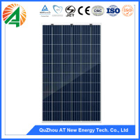 2017 5BB pv module 260W poly solar panel automobiles