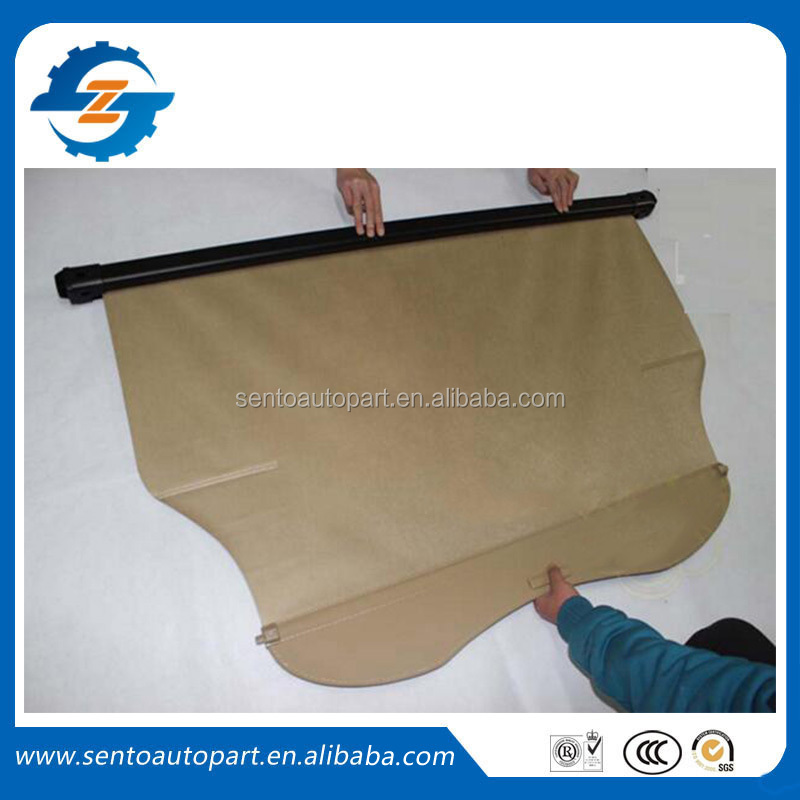 Car accessories suv retractable cargo cover for Boliger tonneau cover 2012