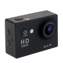 action camera be unique W9 H9 waterproof sport wifi action camera full hd 1080P 2.0 LCD Diving 30M