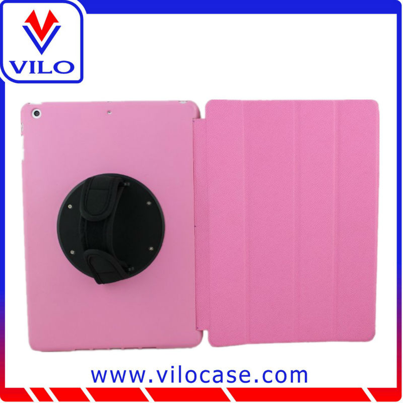 high quality best selling leather case with keyboard back cover housing replacement for ipad 2