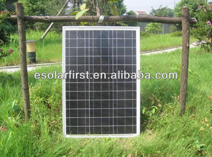 HIGH EFFICIENCY 50W Polycrystalline Solar Panel With Hight Quality Make By Chinese Manufacturers