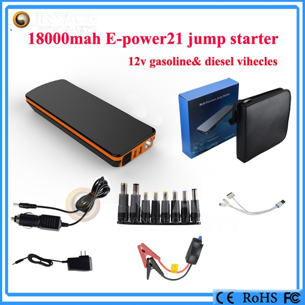 12V Lithium Jump Starter and Portable Power Bank Winplus Car Jump Start mini booster
