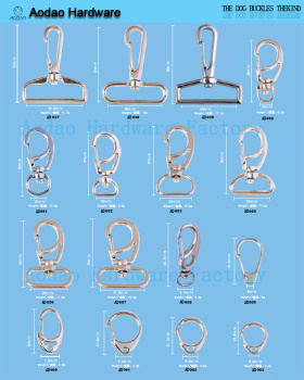 wholesale custom snap hooks clips swivel