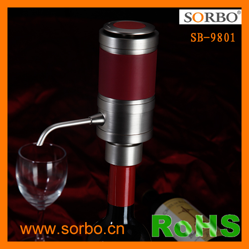2016 New Product Patent electronic wine aerator wine accessory