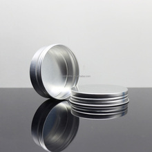 Aluminium metal tin cosmetic packaging aluminium box wholesale AJ-1821A