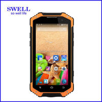 Waterproof IP68 rugged phone with NFC and Walkie Talkie 3G rugged lowest price china android phone