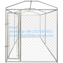 hot dipped galvanized cheap high quality chain link mesh outdoor dog kennel