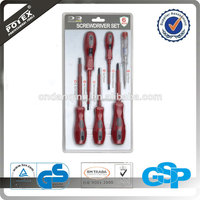 6 Piece Screwdriver Set /Free Sample Hand Tools(We are a factory)