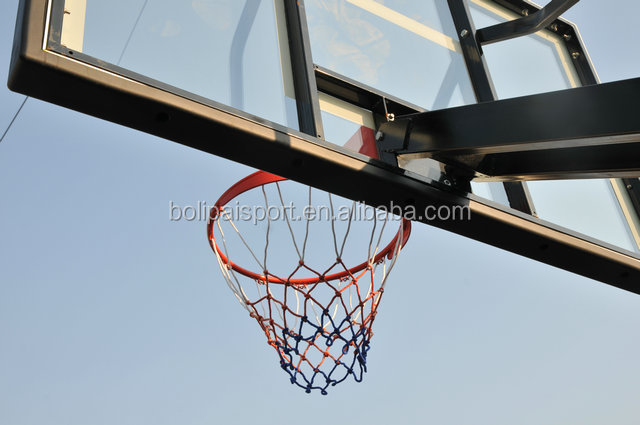 Inground Height Adjustable Basketball Stand