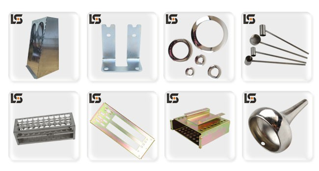 Various OEM Sheet Metal Stamping Parts and CNC Precision Machining Parts
