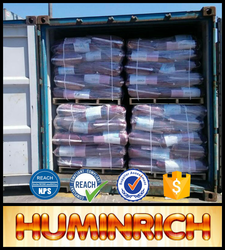 Huminrich Large Alliance Manufacturer Leonardite Extract Super Potassium Humate Granular Cheap Fertilizer