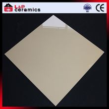 Pure yellow Moh's hardness 7 impervious platinum ceramic floor tile