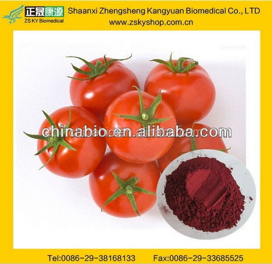 GMP Factory Supply Free Sample Tomato Extract/Lycopene 10%