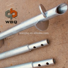 WBQ DD Hot Dip Galvanized Ground Anchor Helical Screw Piles