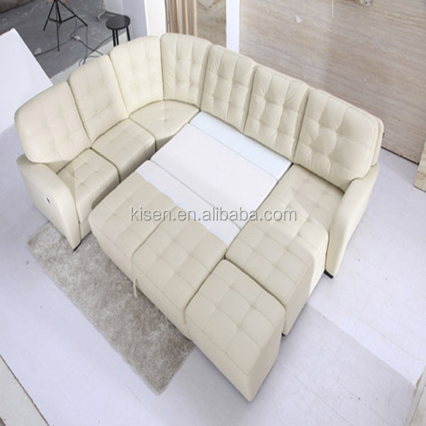 living room recliner sofa for modern white furniture KQ601-1
