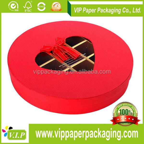 WITH PAPER DIVIDER INSERTS FANCY GIFT CHOCOLATE PACKAGING BOX/CHOCOLATE BOX