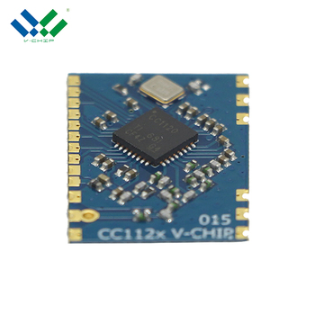 RF Transceiver CC1120 chipcon 1500M long distance 433mhz water meter RF module