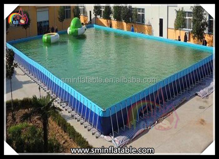 Pvc Metal Frame Swimming Pool Metal Rectangular Frame Swimming Pool Frame Swimming Pool