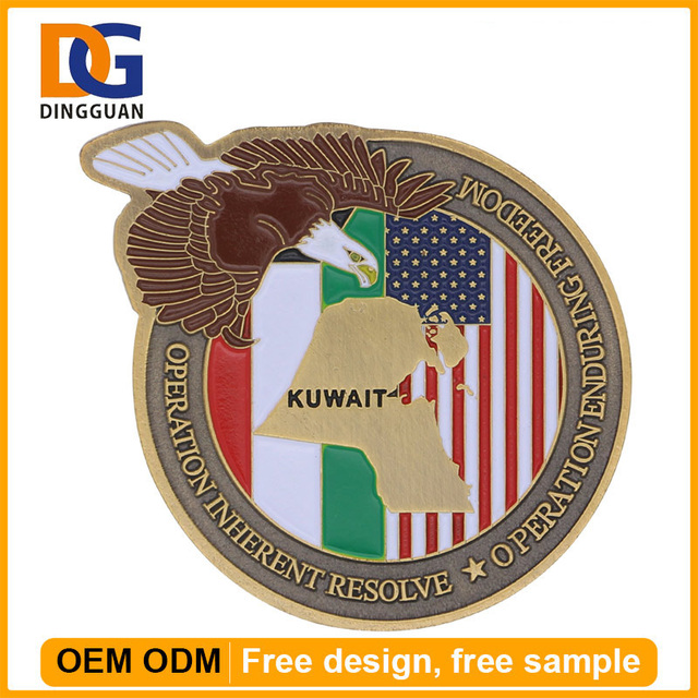 Cheap Token Souvenir Custom Maker Eagle Coin