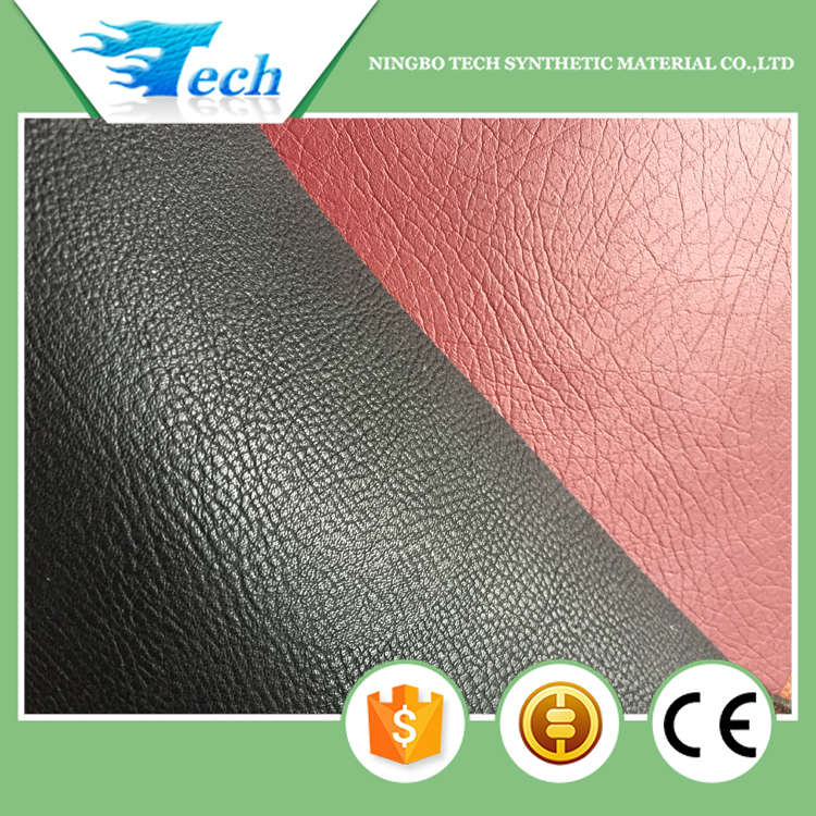 1.6mm Soft hand feeling Microfiber pu leather for sofa