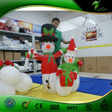 Made in China Mini inflatable christmas decoration,mini inflatable snowman with unique design