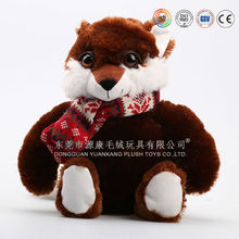 2015 fashionable and popular oem plush toy cat