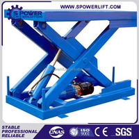 HOT SALE hydraulic lift used for motorcycle scissor lift