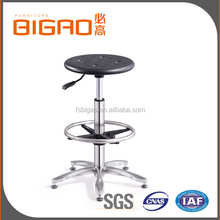 2016 China Factory Wholesale Alibaba High Quality Low Price Height Adjustable Chrome Legs Lab Stool Chair