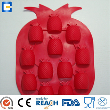 silicone fondant mold, ring, apple, strawberry, pineapple silicone baking cake mould