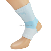 Colored Nylon Knitting breathable soft football ankle guard ankle support socks