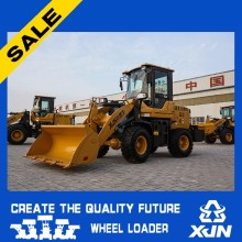 Cheap 1200kg ZL18 Small wheel loader road construction equipment made in china
