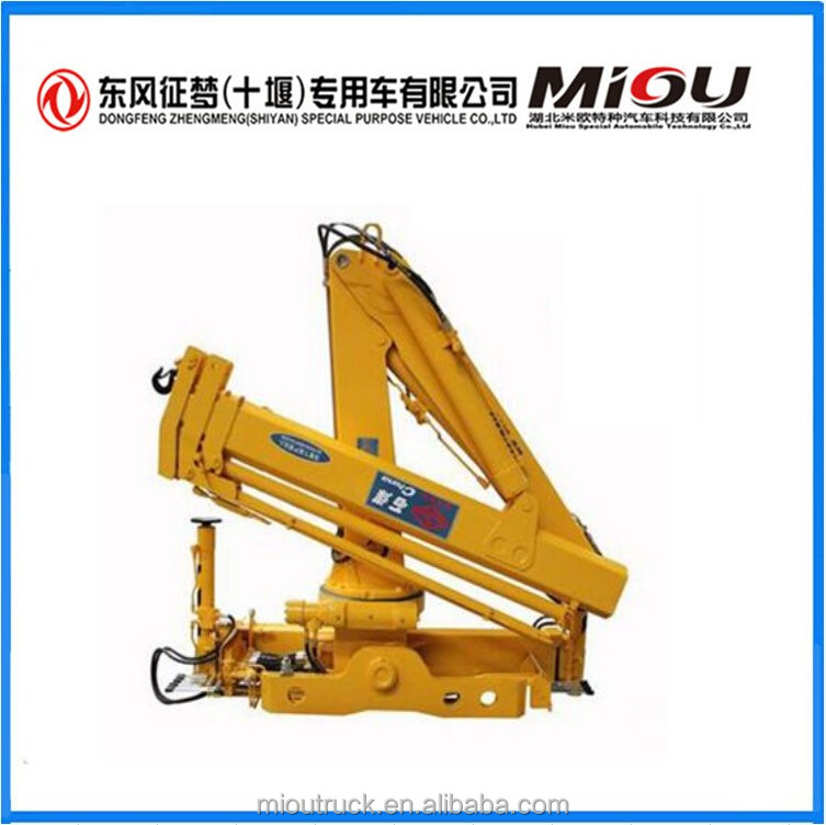Cheap Cranes Folding Arm Shimei hydraulic arm crane for <strong>trucks</strong>
