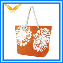 fashion large flower shopping tote bag shoulder bag