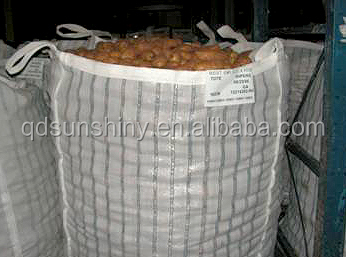 hot selling ventilated fibc jumbo bag big bags for firewood patatoes onion packaging bag exported to New Zealand
