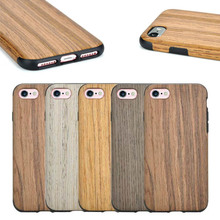Factory Direct Selling Wooden Pattern TPU Case for iPhone 7, For iPhone 7 TPU Case