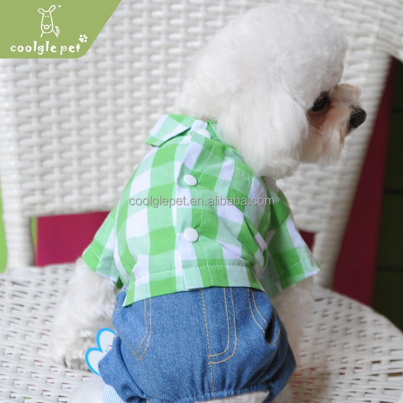 Cheap Clothing of Dog Wholesale Buy Pet Clothes Green Dog Shirts