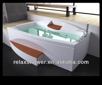 2015 hot sale simple spa bathtub