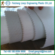 water passage and retain soil and gravel material-short Fiber non-woven geotextile