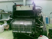 Used Offset one colour Heidelberg Kord 62 machine