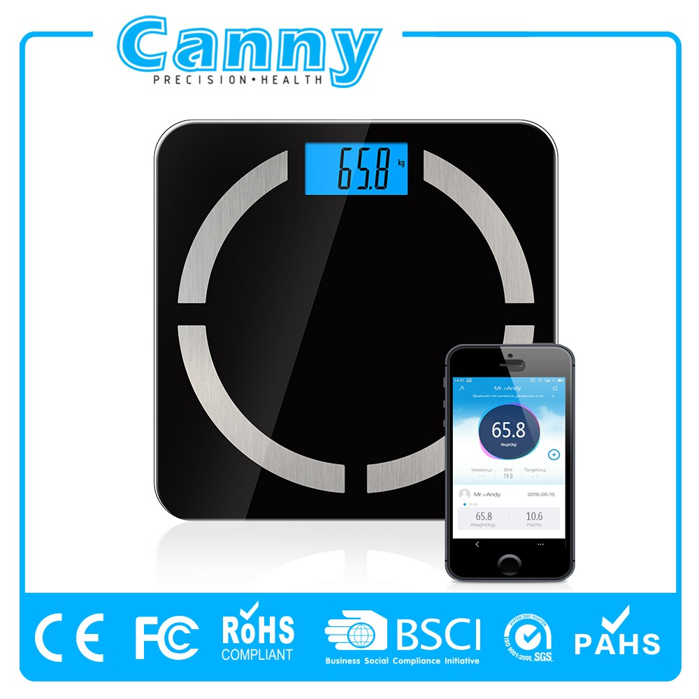 New Personal Home Use Bluetooth Digital Bathroom Scales Bluetooth body Fat smart scales