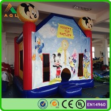 Mickey mouse bounce house/commercial bounce house/used commercial bounce houses for sale