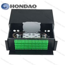 HONDAO High isolation corning fiber 32 Cores Flame retardant waterproof fiber optic patch panel price
